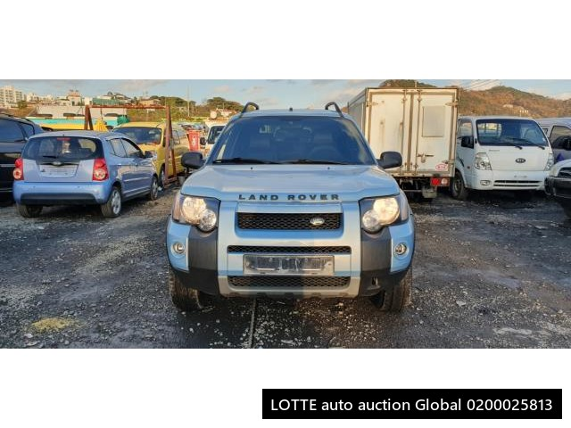 2004 LAND ROVER FREELANDER (Left Hand Drive)