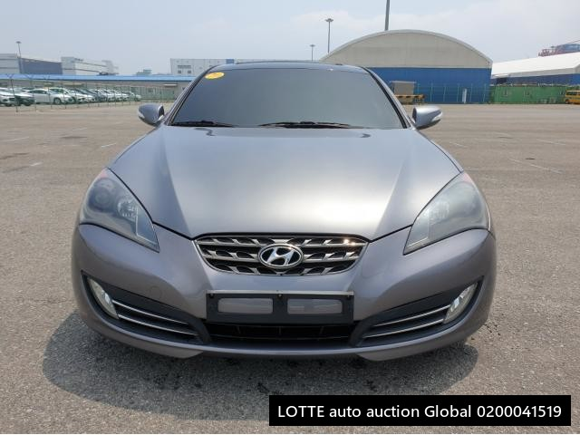 2010 HYUNDAI GENESIS COUPE (Left Hand Drive)