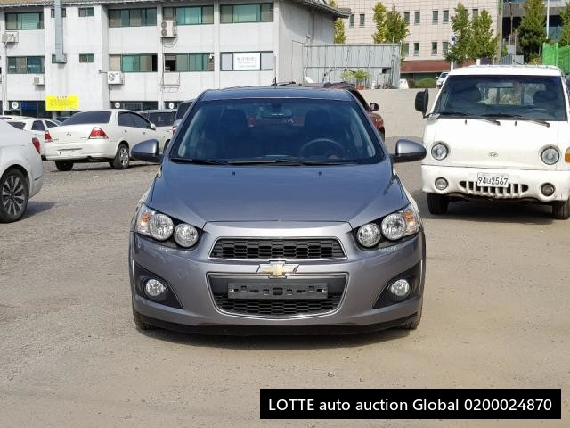 2012 GM DAEWOO AVEO SEDAN (Left Hand Drive)