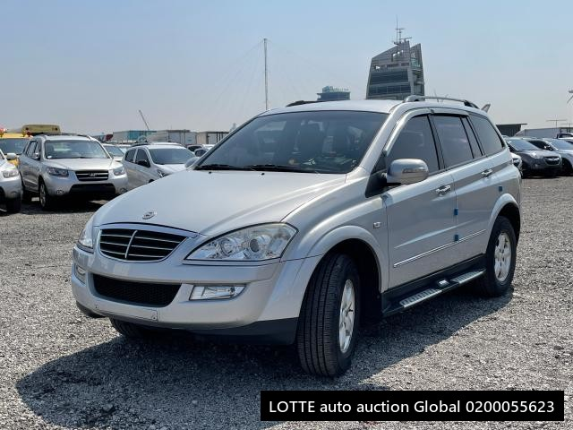 2008 SSANGYONG NEW KYRON (Left Hand Drive)