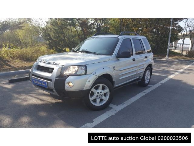 2005 LAND ROVER FREELANDER (Left Hand Drive)