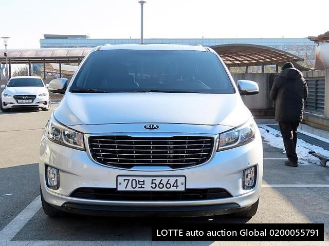 2018 KIA ALL NEW CARNIVAL (Left Hand Drive)