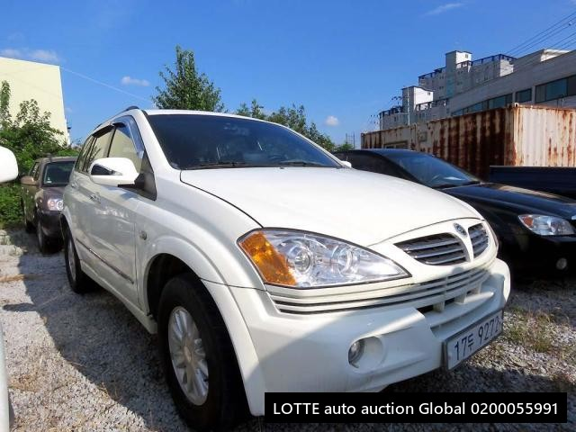 2006 SSANGYONG KYRON (Left Hand Drive)