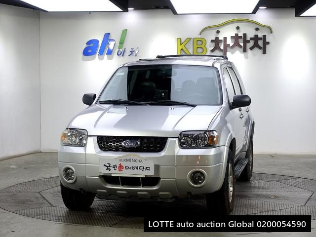 2005 FORD ESCAPE (Left Hand Drive)