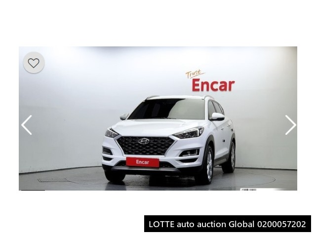 2019 HYUNDAI ALL NEW TUCSON (Left Hand Drive)