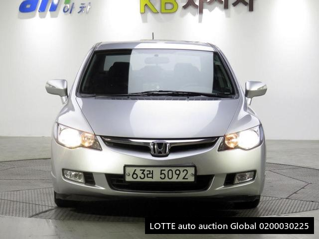 2008 HONDA CIVIC HYBRID (Left Hand Drive)