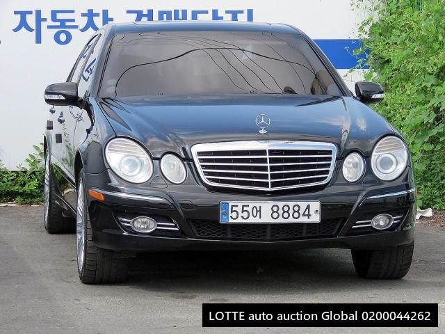 2008 MERCEDES BENZ E350 (Left Hand Drive)