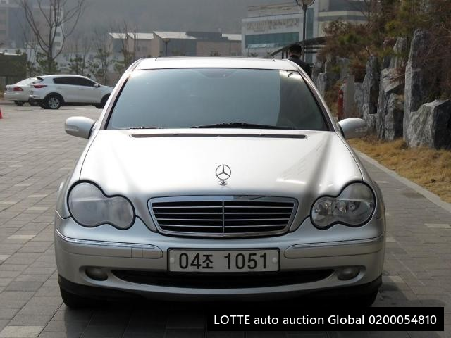 2003 MERCEDES BENZ C240 (Left Hand Drive)