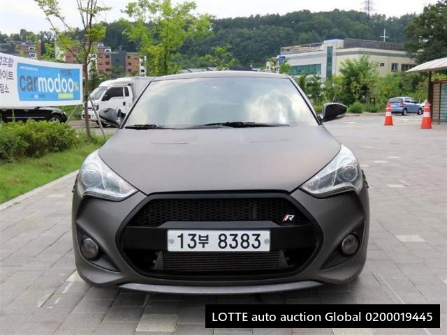 2013 HYUNDAI VELOSTER | Ref No 0200019445 | Used Cars for
