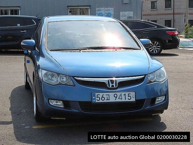 2008 HONDA CIVIC (Left Hand Drive)