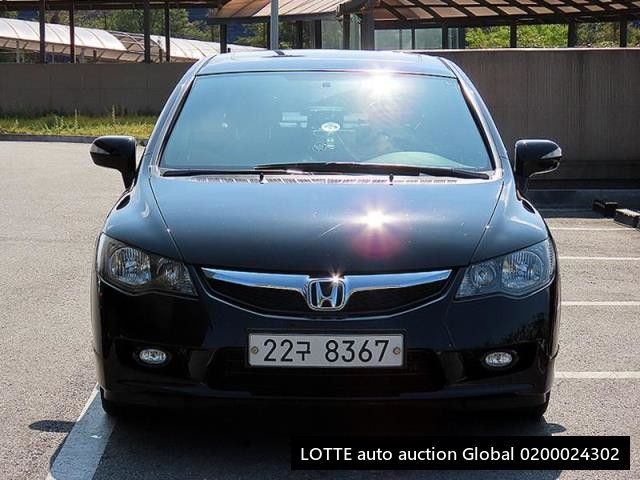2009 HONDA CIVIC (Left Hand Drive)