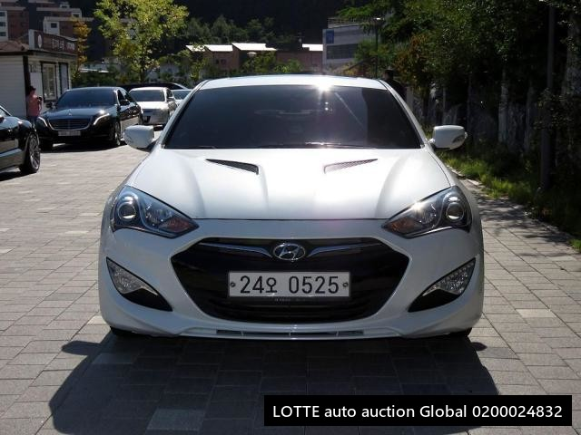 2014 HYUNDAI THE NEW GENESIS COUPE (Left Hand Drive)