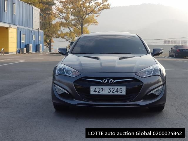 2012 HYUNDAI THE NEW GENESIS COUPE (Left Hand Drive)