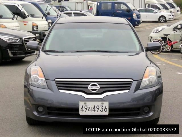 2009 NISSAN ALTIMA (Left Hand Drive)