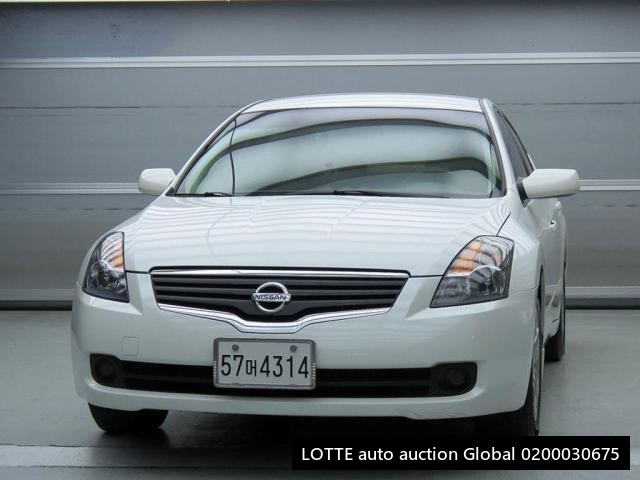 2008 NISSAN ALTIMA (Left Hand Drive)