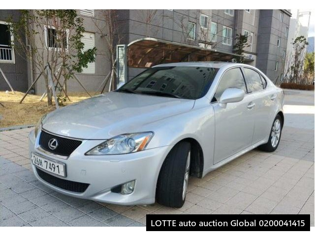 2007 LEXUS IS (Left Hand Drive)
