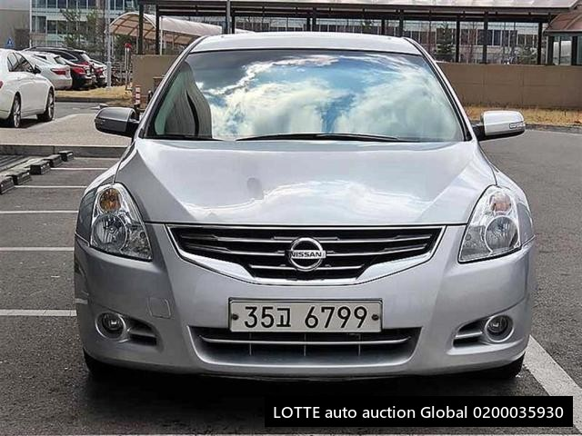 2010 NISSAN ALTIMA (Left Hand Drive)