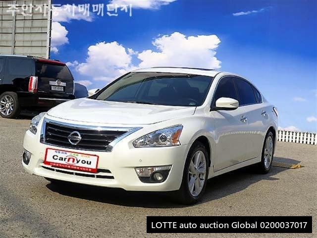 2014 NISSAN ALTIMA (Left Hand Drive)
