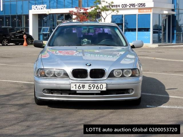 2001 BMW 5 SERIES (Left Hand Drive)