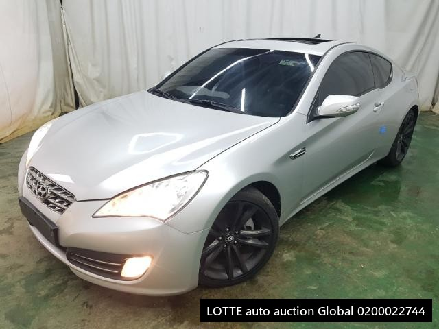 2009 HYUNDAI GENESIS COUPE (Left Hand Drive)