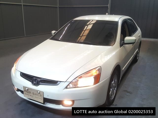 2004 HONDA ACCORD (Left Hand Drive)